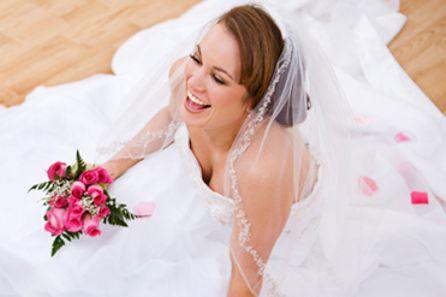 уверена в красотата си на сватбеният ден